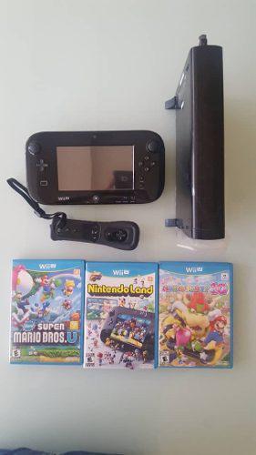 Nintendo wii u (32 gb) con 8 juegos originales