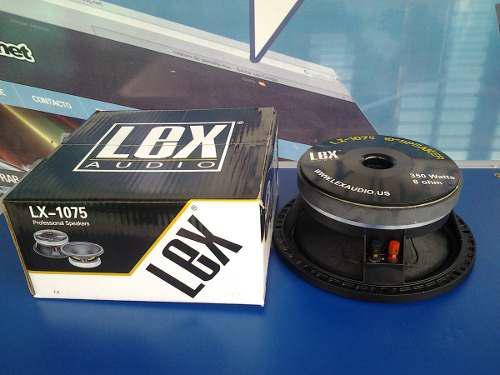 Parlante 10 pulgadas lex audio lx-1075 bobina 3 pulgadas