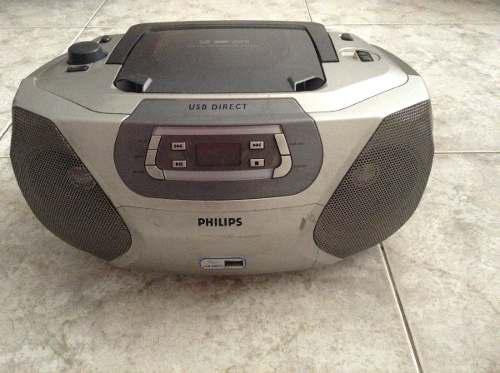 Radio reproductor cd mp3 portatil. usado buen estado.