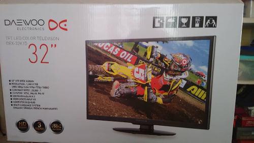 Televisor marca daewoo 32pulgadas led