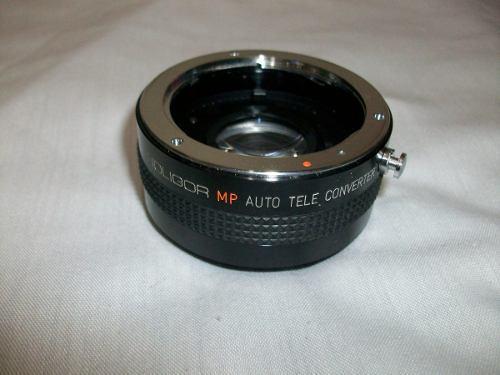 Camara lente oferta remate total soligor reparar repuesto