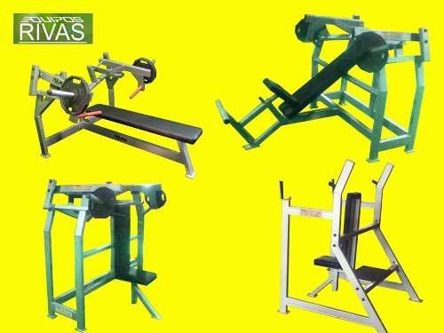 Equipos y maquinas de gimnasios, nuevos-fabricacion y venta