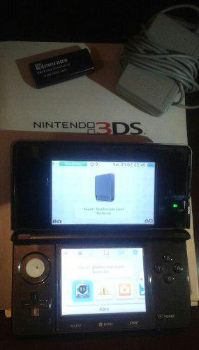 Nintendo 3ds y juegos r4