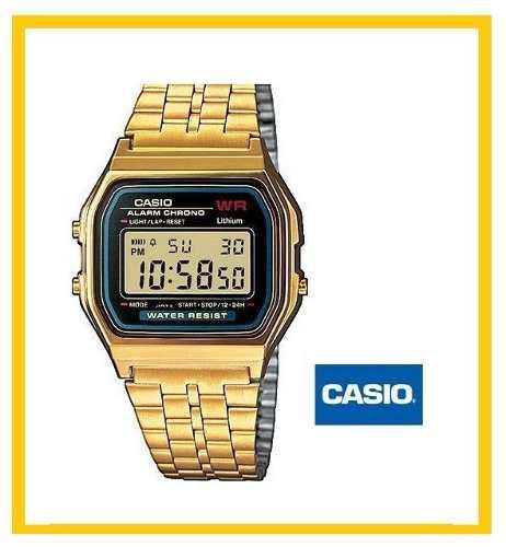 7170942c8114 Reloj casio a159w vintage retro dorado en Libertador-Aragua ...