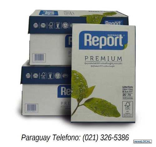 Resmas de papel fotocopias carta importada