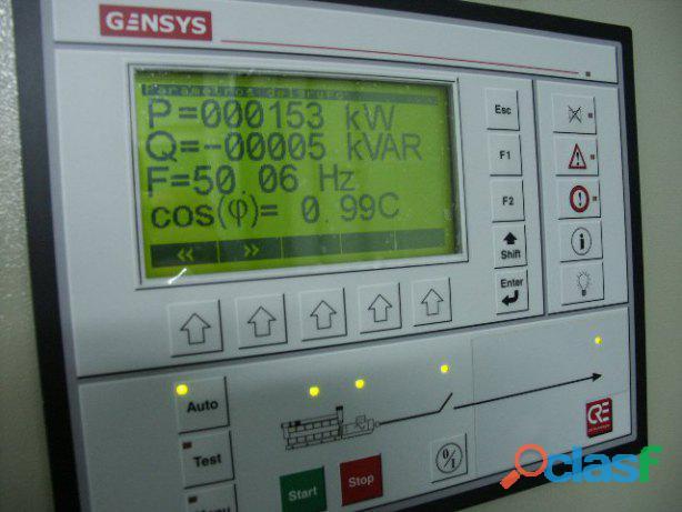 Electricidad y electrónica industrial. plantas eléctricas.
