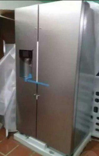 Nevera dos puertas con dispensador nueva con su caja 680trum