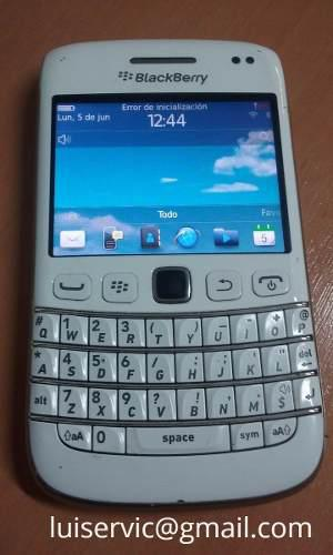 Telefono celular blackberry bold 6 blanco liberado whatsapp