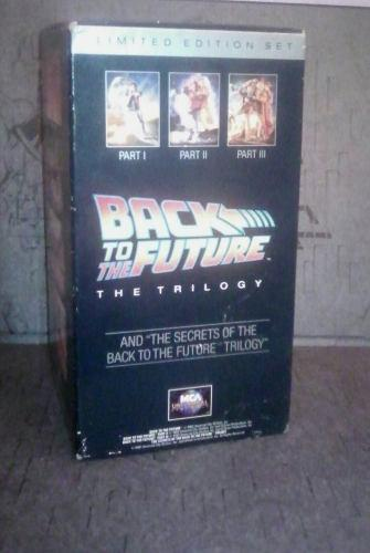 Back To The Future!!! Colección Vhs