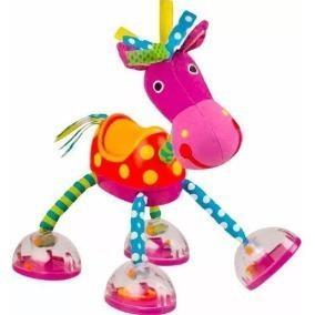 Caballito con sonido sassy caballo juguete sonajero