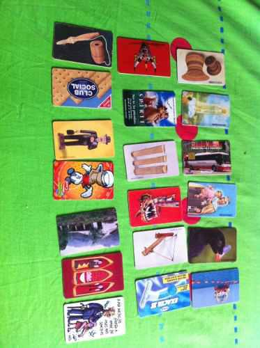 Colección tarjetas telefónicas cantv vintage