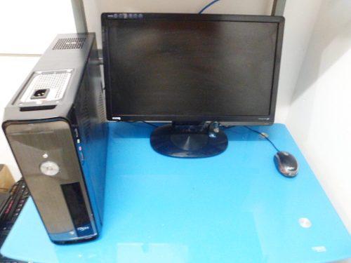 Computador intel dual core 4gb ram 500gb dd monitor 17p lcd