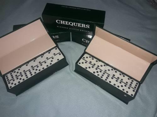 Juego domino profecional edicion especial chequers importado