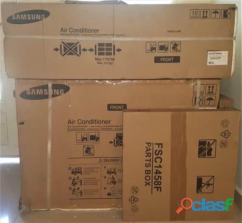 Acondicionadores de aire de uso domestico y comercial marca nacional a la orden del dia