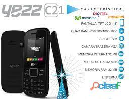 Te traemos el yezz c21 nuevo sin uso con caja y cargador estamos en cabudare llamanos al 04265504742