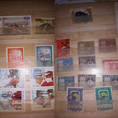 Coleccion de estampilla de estados unidos de venezuela 1947
