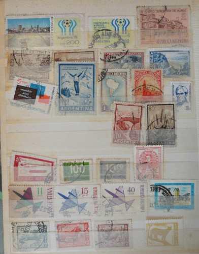 Estampillas de colección filatelia argentina