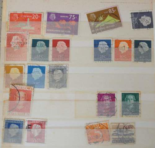 Estampillas de colección filatelia países bajos