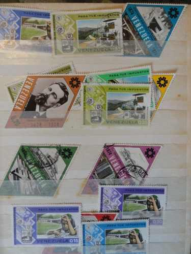 Estampillas de colección filatelia venezuela