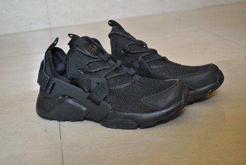 Kp3 zapatos nike air huarache city negro completo caballero