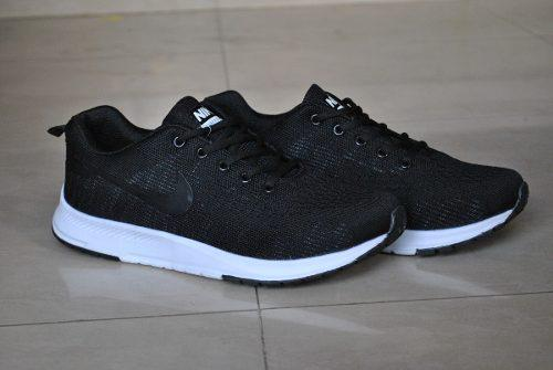 Kp3 zapatos nike air zoom negro blanco pegasus caballeros