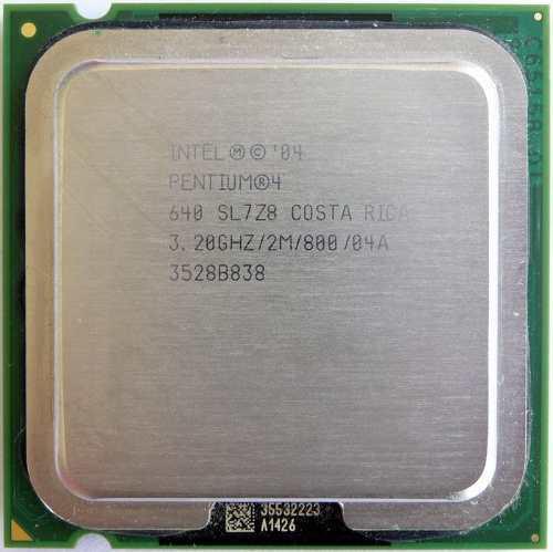 Procesador pentium 4 640 3.20ghz
