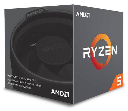 Procesador ryzen 5 2600 am4 6-core 3.9 ghz turbo