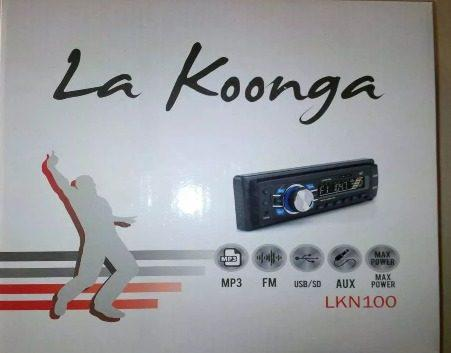 Reproductor carro koonga lkn100 mus usb sd radio mp3