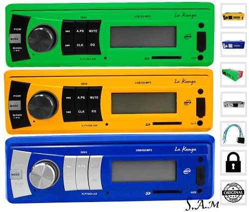 Reproductor de carro profesional musica mp3 usb sd pendrive