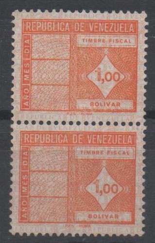 Venezuela. estampilla o timbre fiscal para coleccionistas