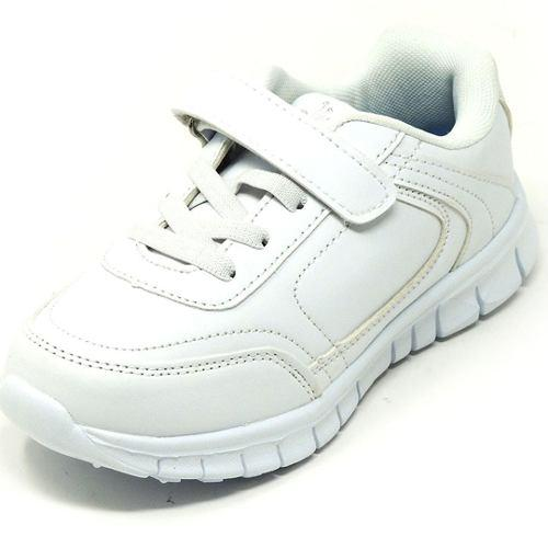 Zapatos deportivos escolares yoyo unisex 15339v blanco 32-39