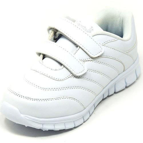 Zapatos deportivos escolares yoyo unisex 16367v blanco 24-31