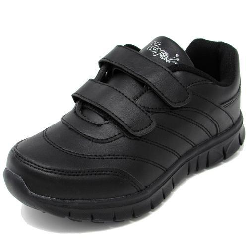 Zapatos deportivos escolares yoyo unisex 16367v negros 32-39
