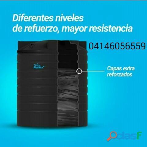 12.500 lts. tanques para agua y sustancias quimicas reforzado por niveles marca resinca. 04146056559