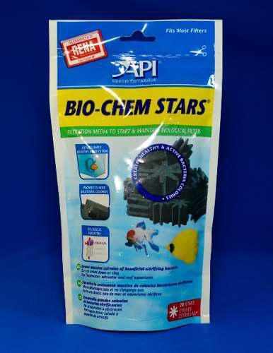 Bio chem stars elemento filtrante acuarios y peceras