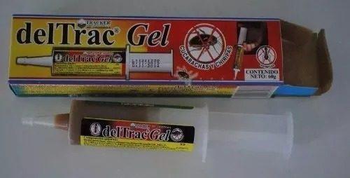 Deltrac gel x 30gr. elimina cucarachas y chiripas
