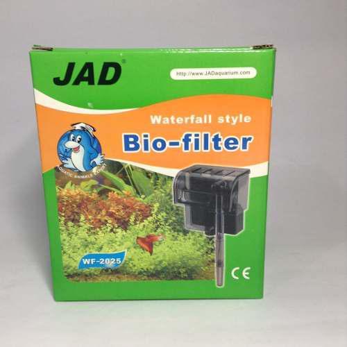 Filtro de cascada jad wf-2025 acuarios peceras hasta 25gal