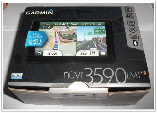 Gps garmin nuvi 3590 lmt portatil 5hd.incluye accesorios