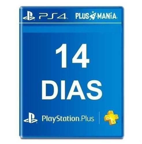 Psn plus 14 dias ps4 ps3 ps vita oferta