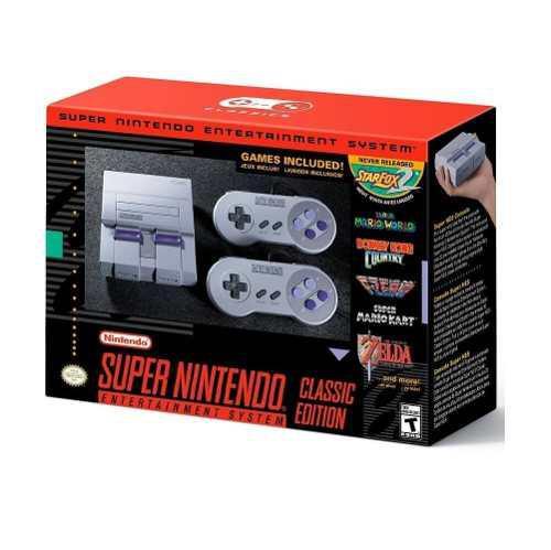 Super nintendo mini edicion especial 21 juegos somos tienda