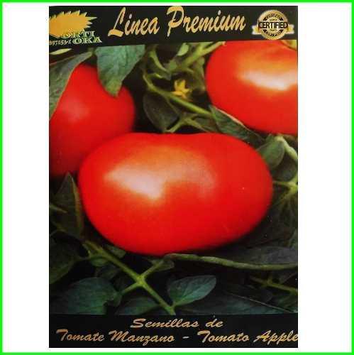 2 sobres de semillas de tomate manzano 2 gramos