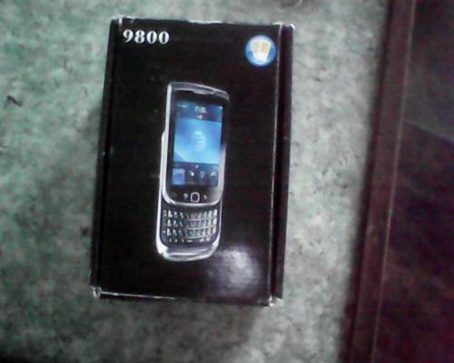 Blackberry touch 9800/chino-usado en buen estado.doble sim,