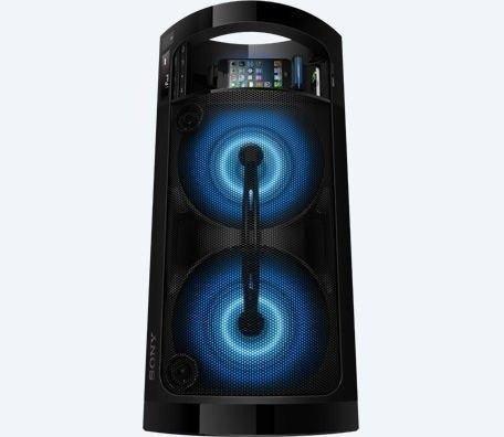 Corneta portatil sony bluetooth usb amplificada poco uso