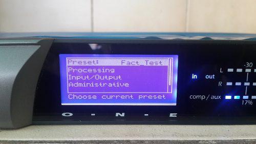 Procesador de audio omnia one para radio fm (nuevo)