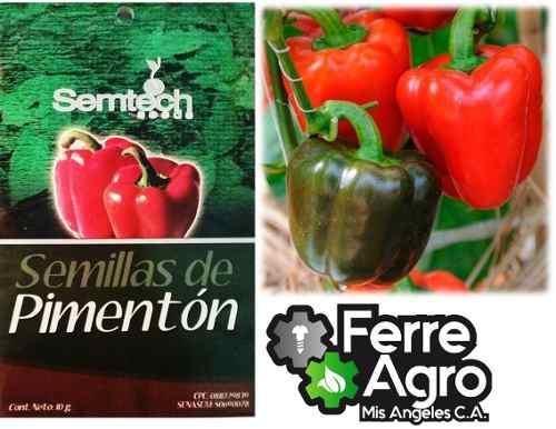 Semillas certificadas de pimenton 10 gr
