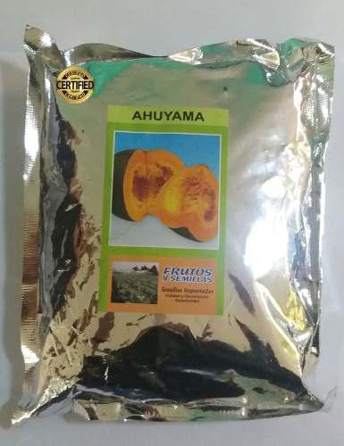 Semillas de auyama certificadas 500 gramos