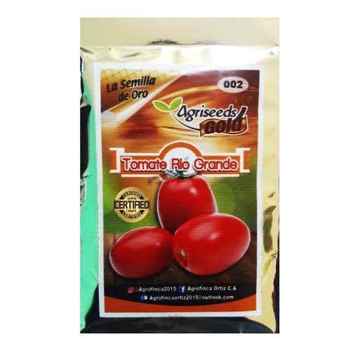 Semillas de tomate rio grande 22 gramos certificadas
