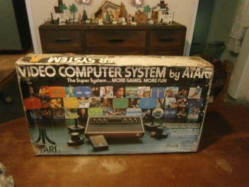 Caja Original De Atari 2600