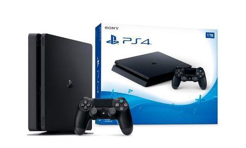 Playstation 4 ps4 sony 1tb slim 2da gen 100% new consola