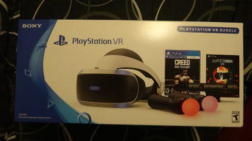Ps4 vr casco virtual ps4 bundle creed nuevo y sellado